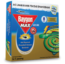 Baygon Coil Standard Green