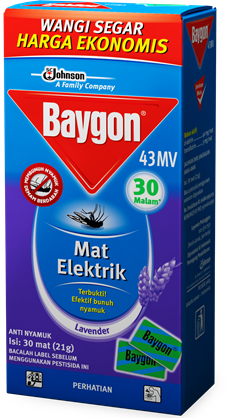 baygon mat electric refill